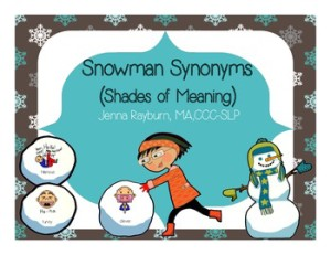 Crazy Speech World: Winter Themed Lesson Plans