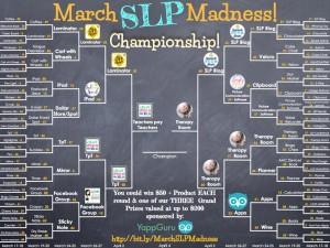 March SLP Madness CHAMPIONSHIPS!