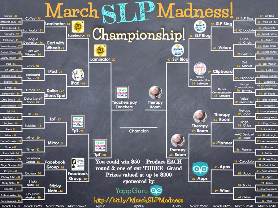Crazy Speech World: SLP Madness