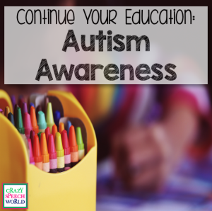 Autism Awareness:  Education {Hanen Giveaway!}