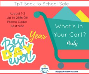 What's In My Cart {Linky Party}