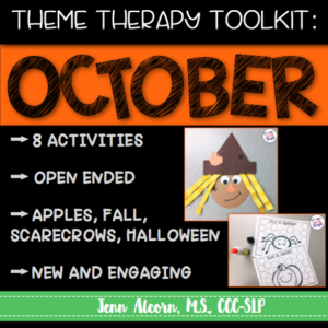 October Theme Therapy Toolkit