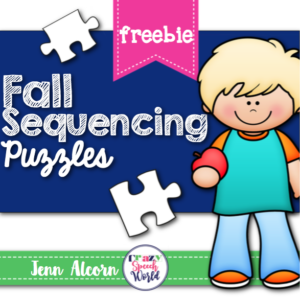 Fall Sequencing Puzzles (FREEBIE!)