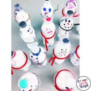 Snowmen Interactive Activities