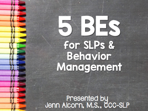 Behavior Management Presentation
