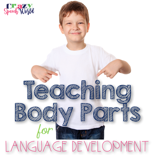 Crazy Speech World: Teaching Body Parts