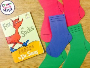 Crazy Speech World:  Seuss Activities