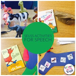 Dr. Seuss Speech Activities
