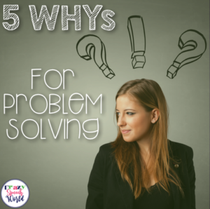5 WHYs for Problem Solving