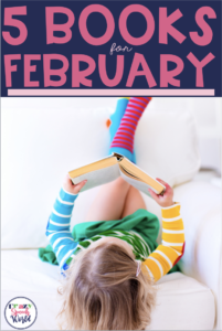5 Books for Speech Therapy in February!