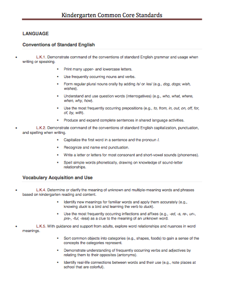Common core standards and slp for Speech pathology lesson plan template
