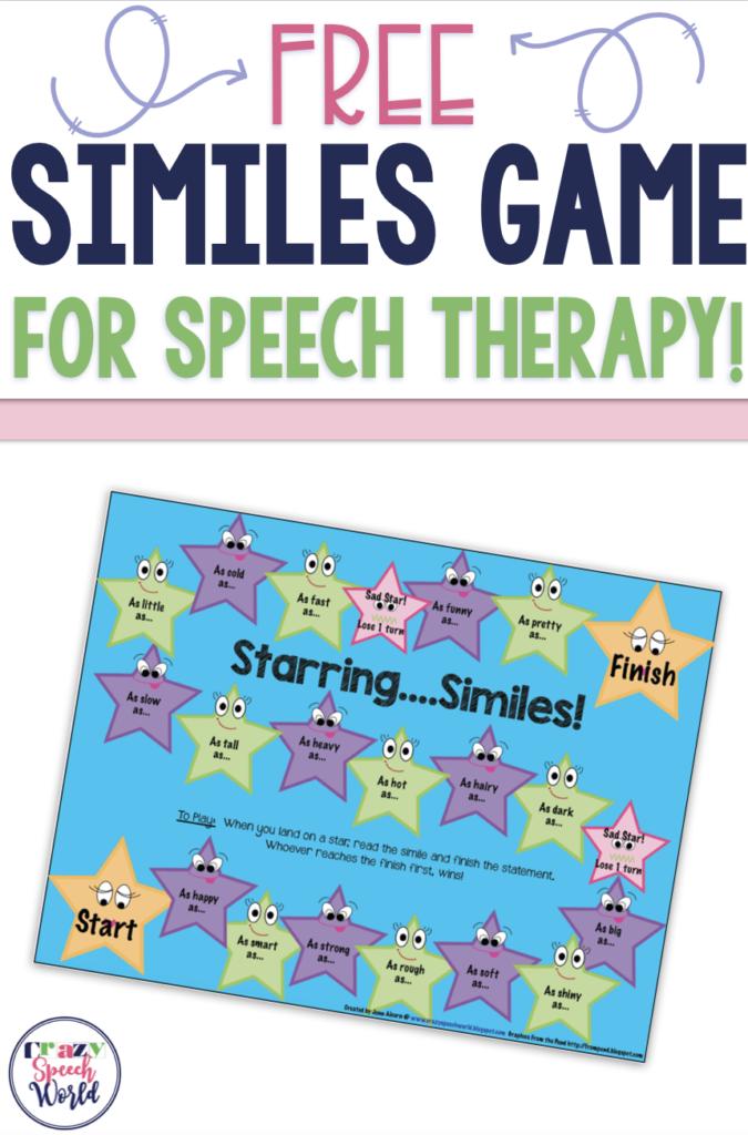 Free Similes Game