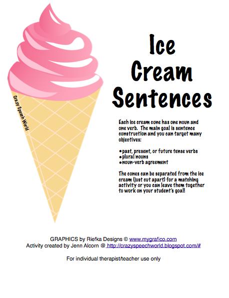 Ice Cream Song Lyrics For Kids