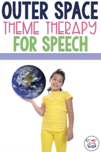 Outer Space theme for speech therapy