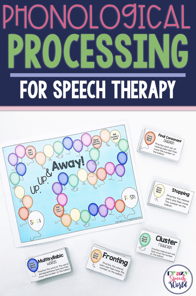 Phonological Processes For Speech Therapy