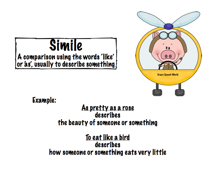 Flying Pigs Figurative Language
