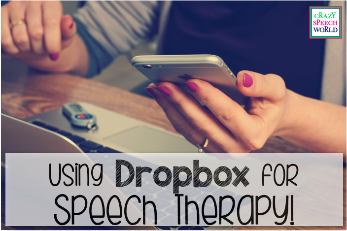 Using Dropbox for speech therapy