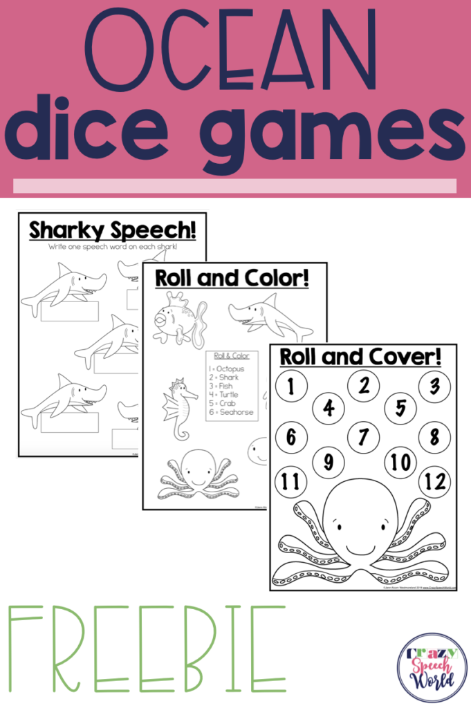 Ocean Animals {Freebie!}