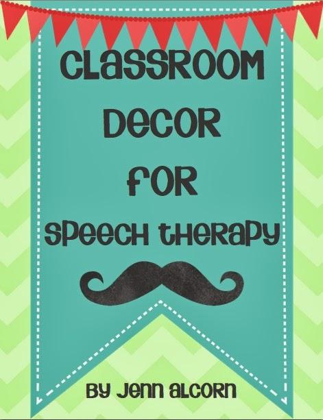 Speech Language Classroom Decorations ~ Speech classroom decor