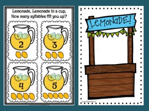 Lemonade Syllables
