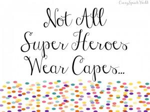 Dear World…Love, Super Mom