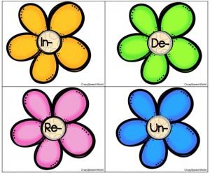 blooming prefixes