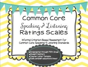 Common Core Scales