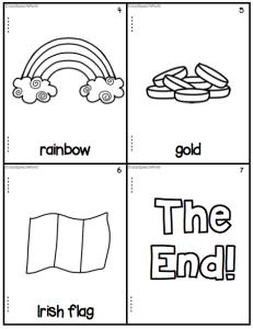St. Patrick's Day Vocabulary Book Freebie!