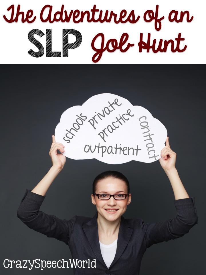 SLP Job Hunt