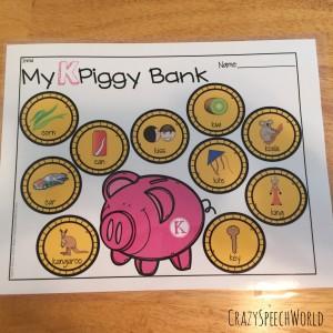 Piggy Bank Articulation