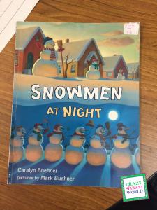 Crazy Speech World: Winter Themed Lesson Plans