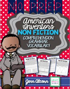 Crazy Speech World: Nonfiction American Inventors