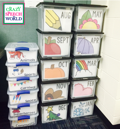 Crazy Speech World: Organizing Materials