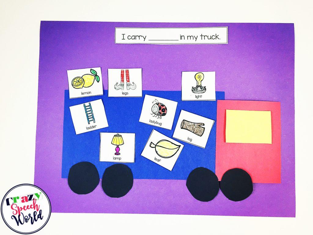 Crazy Speech World: Transportation themed activities for speech therapy